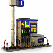 Gasoline Pump 3d model