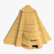 Pirâmide da fantasia 2 3d model