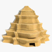 Fantasy Pyramid 3 3d model