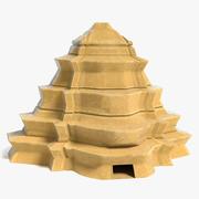 Pirâmide da fantasia 3 3d model