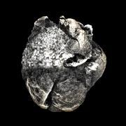 low poly Meteorite 3d model