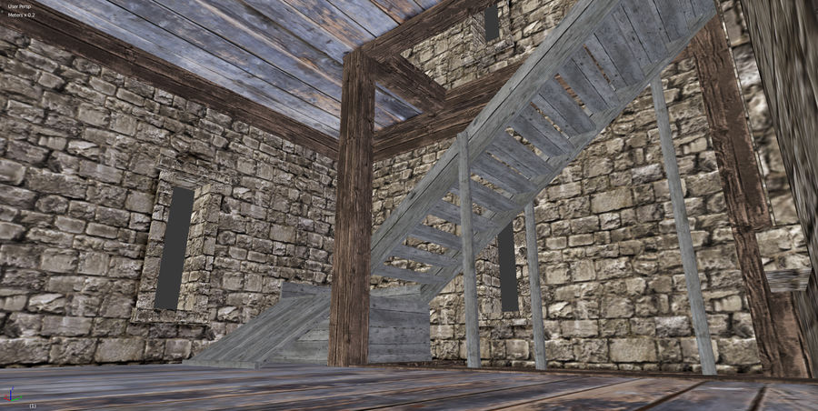 watch tower royalty-free 3d model - Preview no. 9
