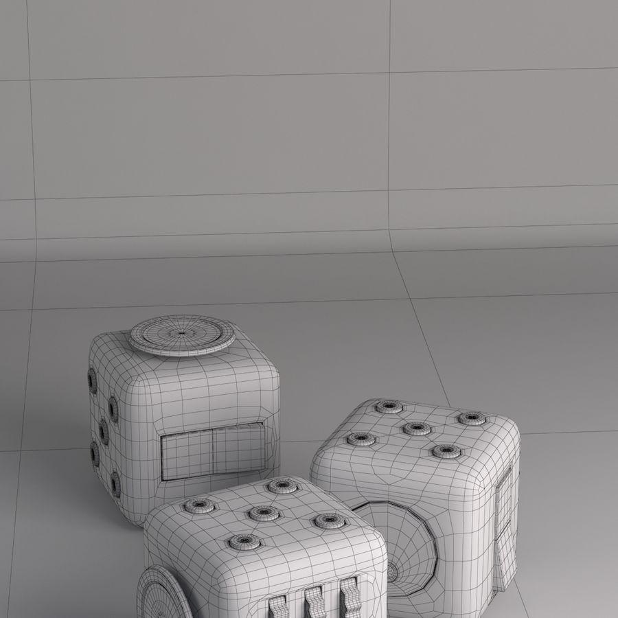 Würfel zappeln royalty-free 3d model - Preview no. 2