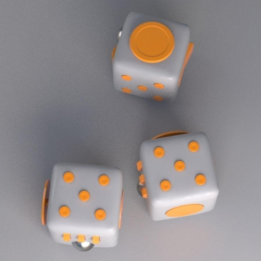 Würfel zappeln royalty-free 3d model - Preview no. 5
