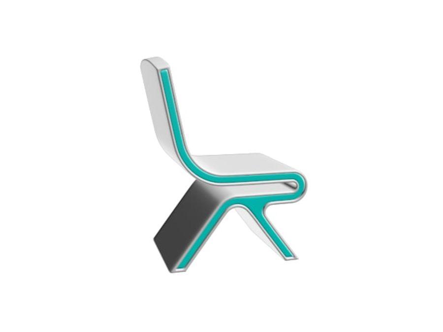 Nowoczesne krzesło royalty-free 3d model - Preview no. 13