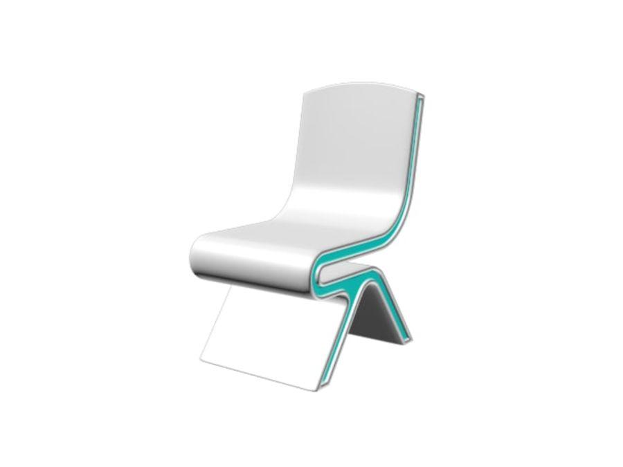 Nowoczesne krzesło royalty-free 3d model - Preview no. 12