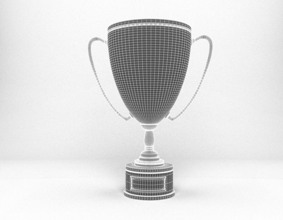 Trophy Cup royalty-free 3d model - Preview no. 7