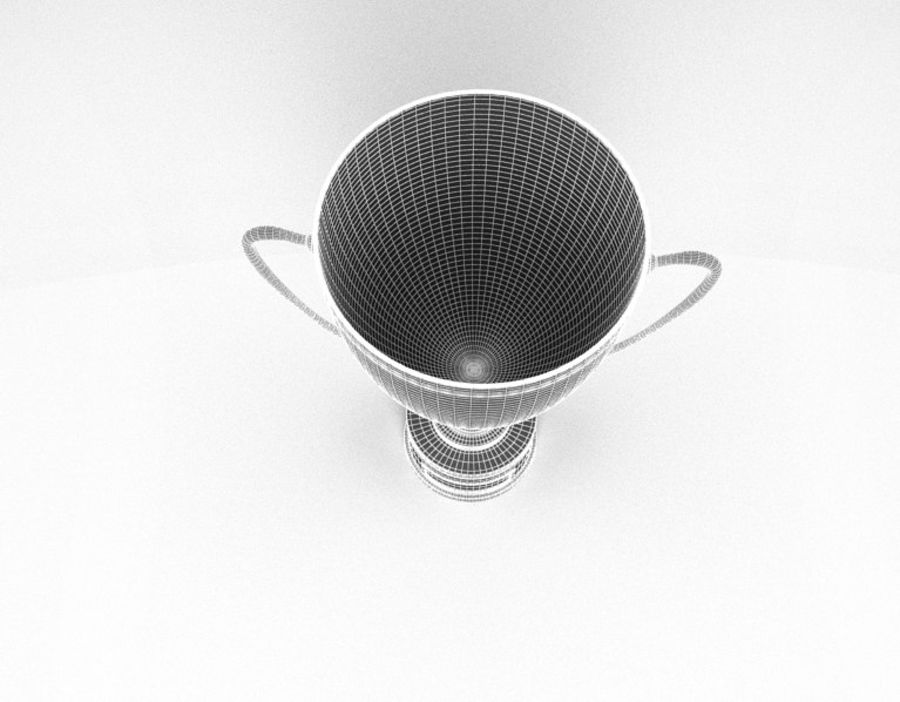 Trophy Cup royalty-free 3d model - Preview no. 9