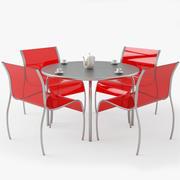 Aluminiummöbel für den Außenbereich 3d model