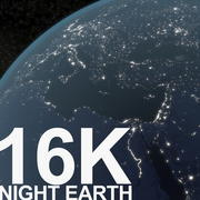 Night Earth 3d model