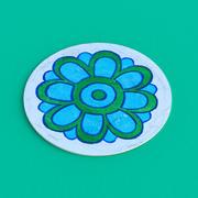 Coaster de papel 3d model