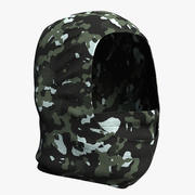 Balaclava Mask Camo 3d model