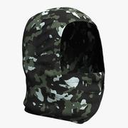 Balaclava Mask Camo 3d model