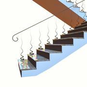 계단 현대 3d model