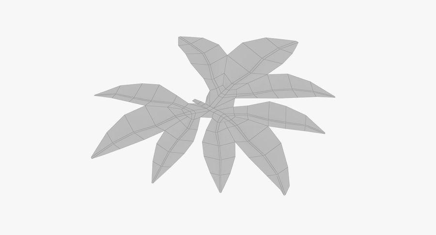 Лист дерева royalty-free 3d model - Preview no. 12