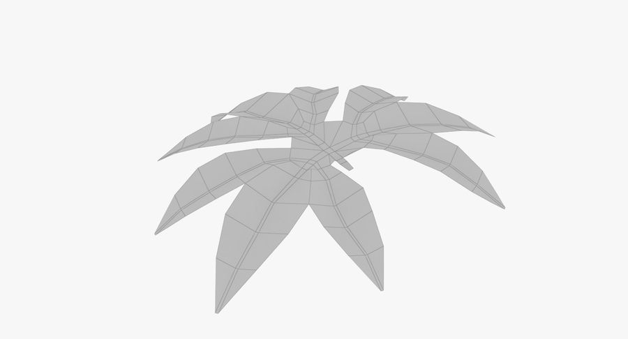 Лист дерева royalty-free 3d model - Preview no. 10