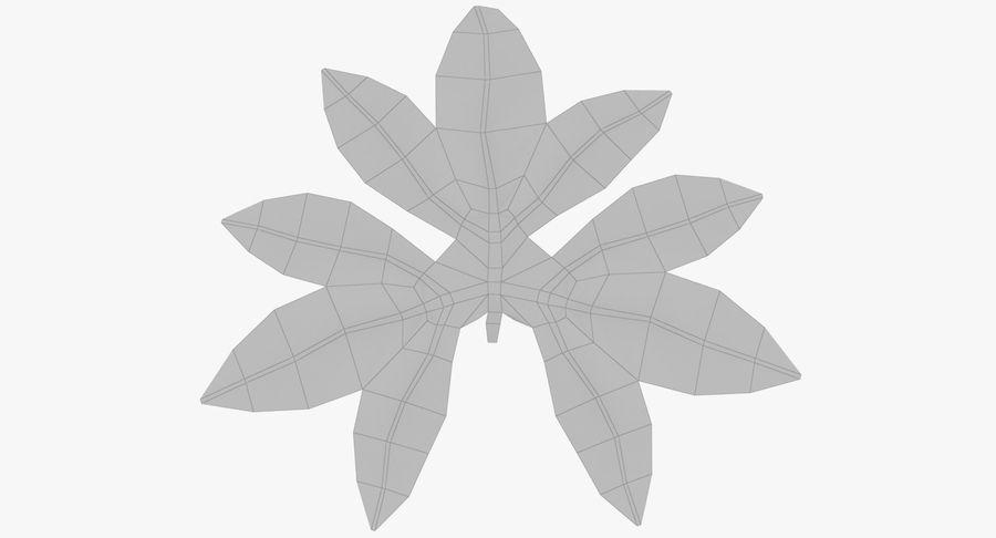 Лист дерева royalty-free 3d model - Preview no. 9