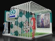Stand d'exposition de stand (2) 3d model
