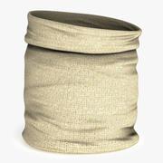 Torba z tkaniny 3d model