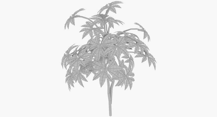 Small Plant royalty-free 3d model - Preview no. 10