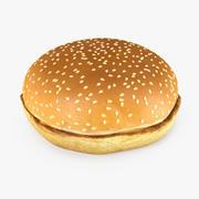 Hamburger Bun Modelo 3D modelo 3d