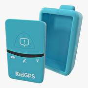 Tracker for Kids KidGPS 3D Model 3d model