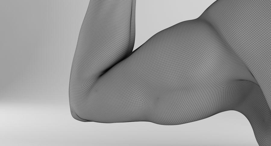 Anatomía del brazo royalty-free modelo 3d - Preview no. 21