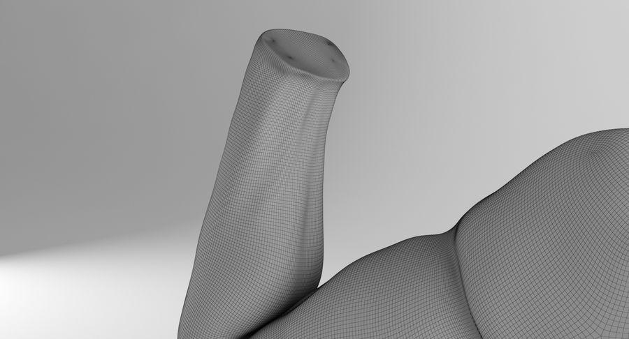 Anatomía del brazo royalty-free modelo 3d - Preview no. 23