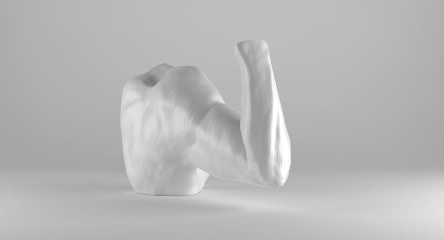 Anatomía del brazo royalty-free modelo 3d - Preview no. 6