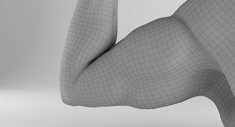 Anatomía del brazo royalty-free modelo 3d - Preview no. 20