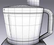Bosch Küchenmaschine 3d model