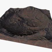 Asteroiden-Krater 3d model