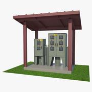 Outdoor Power Box 01 3d model