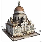 Kuppelgebäude 3d model