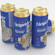 Beer Can Edelmeister Non Alcoholic 500ml 3d model
