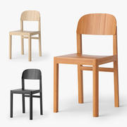 Muuto Workshop Chair 3d model