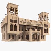 Arabisk byggnad 3d model