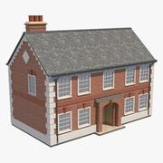 Brick House 01 3d model