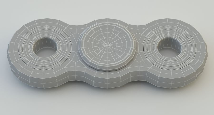 Fidget spinner royalty-free 3d model - Preview no. 18
