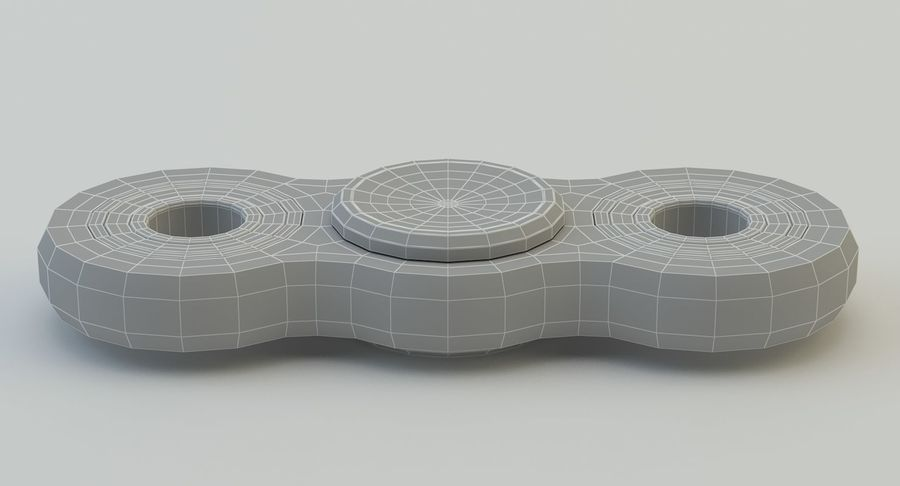 Fidget spinner royalty-free 3d model - Preview no. 17