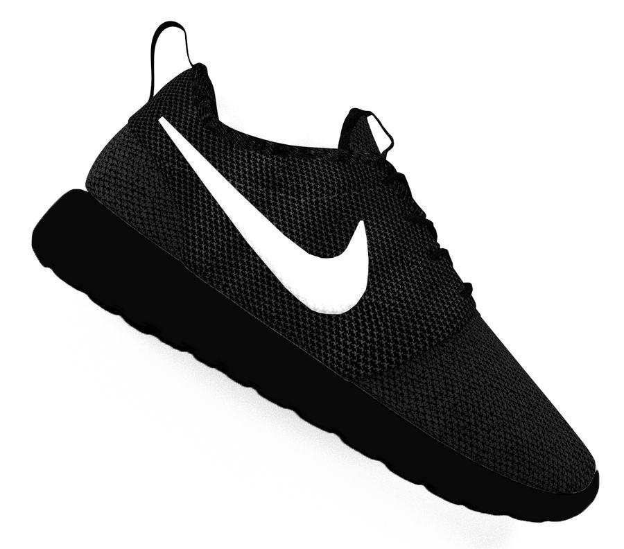 regular corte largo tenaz  Calzado Nike Roshe Modelo 3D $29 - .3ds .obj .blend - Free3D