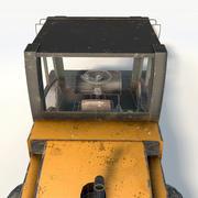 Rullo compressore stradale JCB VM200D 3d model