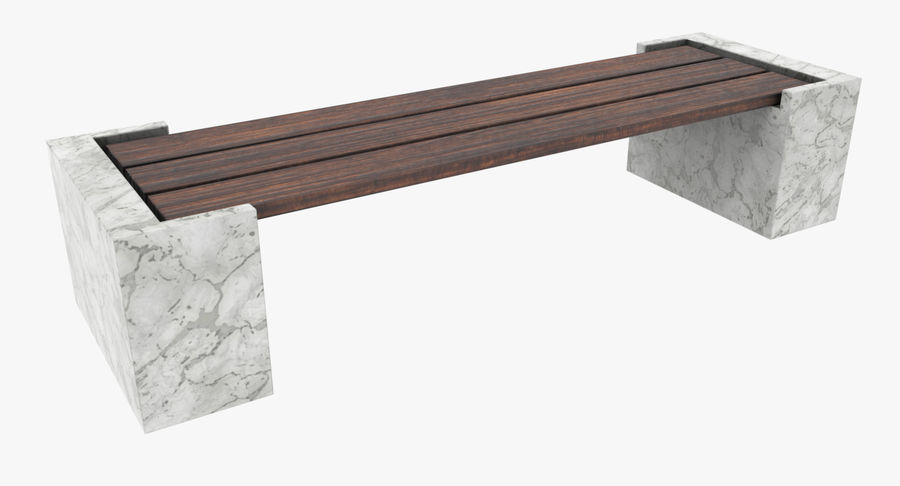 Bench royalty-free 3d model - Preview no. 2