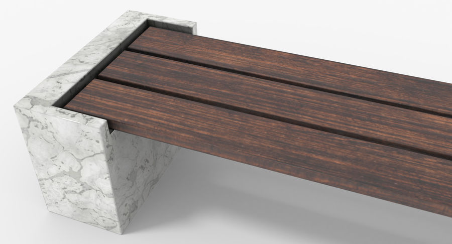Bench royalty-free 3d model - Preview no. 12