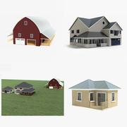 Collection de ferme 3d model