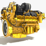 Turbo Diesel Engine 3d model