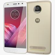 Motorola Moto Z2 Altın Oyna 3d model