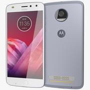Motorola Moto Z2 Play Silver 3d model