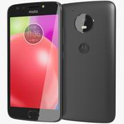 Motorola Moto E4 (USA) Licorice Black 3d model