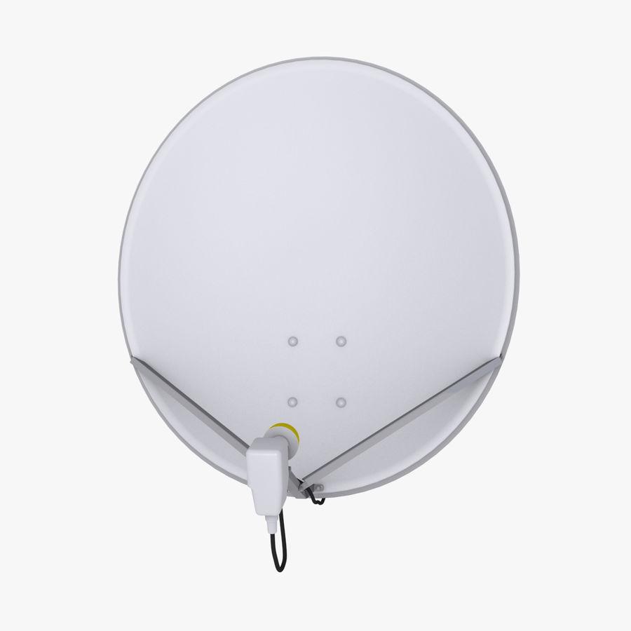 Antena satelital Ku Band royalty-free modelo 3d - Preview no. 1